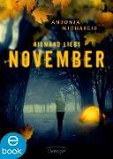 Cover-Bild zu Niemand liebt November (eBook) von Michaelis, Antonia