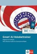 Cover-Bild zu Great! A2 Vokabeltrainer. Heft inklusive Audios für Smartphone/Tablet