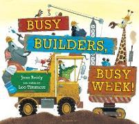 Cover-Bild zu Busy Builders, Busy Week! von Reidy, Jean