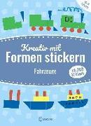 Cover-Bild zu Mein kunterbuntes StickerBastelBuch - Fahrzeuge