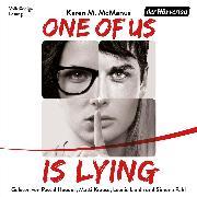 Cover-Bild zu One Of Us Is Lying (Audio Download) von McManus, Karen M.