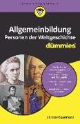 Cover-Bild zu Pöppelmann, Christa: Allgemeinbildung Personen der Weltgeschichte für Dummies