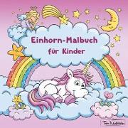 Cover-Bild zu Malbücher, Topo: Einhorn-Malbuch für Kinder
