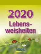 Cover-Bild zu Lebensweisheiten 2020