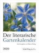Cover-Bild zu Der literarische Gartenkalender 2020