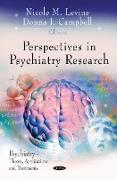 Cover-Bild zu Levine, Nicole M (Hrsg.): Perspectives in Psychiatry Research