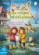 Cover-Bild zu Schütze, Andrea: Die wilden Waldhelden. Kommt, wir suchen einen Schatz (eBook)