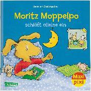 Cover-Bild zu Stellmacher, Hermien: Maxi Pixi 293: VE 5: Moritz Moppelpo schläft alleine ein (5x1 Exemplar)