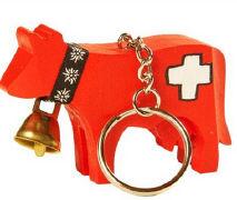 Cover-Bild zu Swiss Kuh mini Schlüsselanhänger