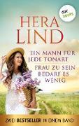 Cover-Bild zu Ein Mann für jede Tonart & Frau zu sein bedarf es wenig (eBook) von Lind, Hera