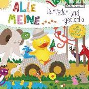 Cover-Bild zu Pfeiffer, Martin (Hrsg.): Alle meine Tierlieder und -gedichte