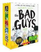 Cover-Bild zu Blabey, Aaron: The Bad Guys Even Badder Box Set (the Bad Guys #6-10)