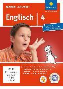 Cover-Bild zu Alfons Lernwelt. Englisch 4. Aktuelle Ausgabe. EL