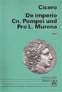 Cover-Bild zu De imperio Cn. Pompei und Pro L. Murena. Text