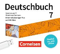 Cover-Bild zu Deutschbuch Gymnasium 7. Schuljahr. Neue Ausgabe. Unterrichtsmanager auf USB-Stick. NW von Germann, Michael