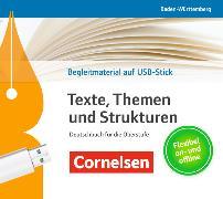 Cover-Bild zu Texte, Themen und Strukturen Bildungsplan 2016. Begleitmaterial auf USB-Stick. BW von Mohr, Deborah (Hrsg.)