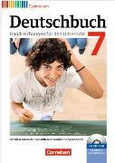 Cover-Bild zu Deutschbuch Gymnasium 7. Schuljahr. Allgemeine Ausgabe. Handreichungen für den Unterricht mit CD-ROM von Brenner, Gerd