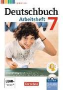 Cover-Bild zu Deutschbuch 7. Schuljahr. Arbeitsheft mit CD-ROM von Grunow, Cordula