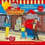 Cover-Bild zu Andreas, Vincent: Benjamin Blümchen - Folge 144: Der Zuckerstückchen-Express (Audio Download)