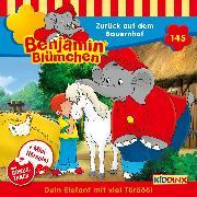 Cover-Bild zu Andreas, Vincent: Benjamin Blümchen - Folge 145: Zurück auf dem Bauernhof (Audio Download)