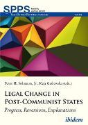 Cover-Bild zu Umland, Andreas (Reihe Hrsg.): Legal Change in Post-Communist States (eBook)