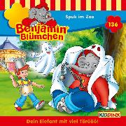 Cover-Bild zu Andreas, Vincent: Benjamin Blümchen - Folge 136: Spuk im Zoo (Audio Download)
