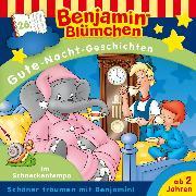 Cover-Bild zu Andreas, Vincent: Benjamin Blümchen - Gute-Nacht-Geschichten - Folge 26: Im Schneckentempo (Audio Download)