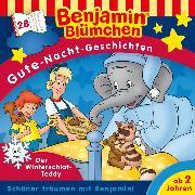 Cover-Bild zu Andreas, Vincent: Benjamin Blümchen - Gute-Nacht-Geschichten - Folge 28: Der Winterschlaf-Teddy (Audio Download)