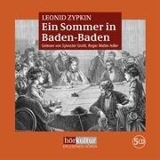 Cover-Bild zu Zypkin, Leonid: Ein Sommer in Baden-Baden