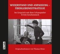 Cover-Bild zu Heise, Thomas (Hrsg.): Widerstand und Anpassung - Überlebensstrategie