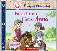 Cover-Bild zu Bosse, Sarah: Fass dir ein Herz, Anna (CD)
