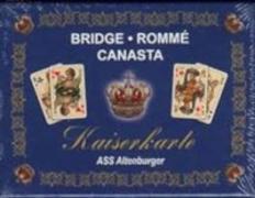 Cover-Bild zu ASS Altenburger Spielkartenfabrik (Hrsg.): Rommé - Kaiserkarten