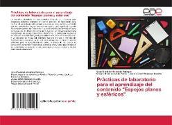 """Cover-Bild zu Mendiola Vanegas, Sara Elizabeth: Prácticas de laboratorio para el aprendizaje del contenido """"Espejos planos y esféricos"""""""