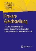 Cover-Bild zu Erlemann, Martina (Hrsg.): Prekäre Gleichstellung