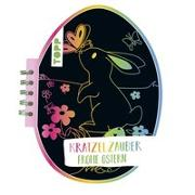 Cover-Bild zu frechverlag: Kratzelzauber Ostern (Kratzelbuch in Ostereiform)