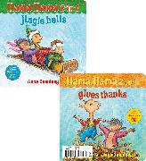Cover-Bild zu Dewdney, Anna: Llama Llama 2-in-1: Gives Thanks/Jingle Bells
