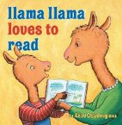 Cover-Bild zu Dewdney, Anna: Llama Llama Loves to Read