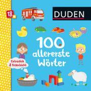 Cover-Bild zu Renger, Nikolai (Illustr.): Duden 18+: Extradick & federleicht: 100 allererste Wörter