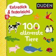 Cover-Bild zu Blanck, Iris (Illustr.): Duden 18+: Extradick & federleicht: 100 allererste Tiere