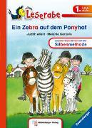 Cover-Bild zu Allert, Judith: Ein Zebra auf dem Ponyhof - Leserabe 1. Klasse - Erstlesebuch für Kinder ab 6 Jahren