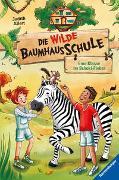 Cover-Bild zu Allert, Judith: Die wilde Baumhausschule, Band 4: Eine Klasse im Schoki-Fieber