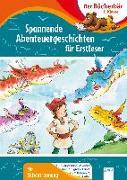 Cover-Bild zu Nahrgang, Frauke: Spannende Abenteuergeschichten für Erstleser