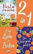 Cover-Bild zu Hutzenlaub, Lucinde: Eine Liebe in Italien: Valentina Cebeni, Der Orangengarten/ Lucinde Hutzenlaub, Pasta d'amore (2in1 Bundle) (eBook)