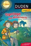 Cover-Bild zu Tielmann, Christian: Duden Leseprofi - Tigerjagd um Mitternacht, 2. Klasse