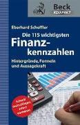 Cover-Bild zu Die 115 wichtigsten Finanzkennzahlen von Scheffler, Eberhard