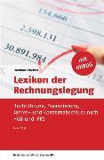 Cover-Bild zu Lexikon der Rechnungslegung (eBook) von Scheffler, Eberhard