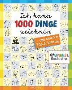Cover-Bild zu Ich kann 1000 Dinge zeichnen. Kritzeln wie ein Profi! von Pautner, Norbert