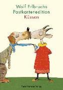 Cover-Bild zu Wolf Erlbruchs Postkartenedition Küssen
