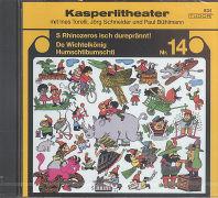 Cover-Bild zu S' Rhinozeros isch dureprännt! / De Wichtelkönig Humschtibumschti