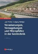 Cover-Bild zu Verankerungen, Vernagelungen und Mikropfähle in der Geotechnik